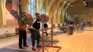 Weightlifting, Vasiliy Polovnikov & Vladimir Safonov, squats 295kg x 5