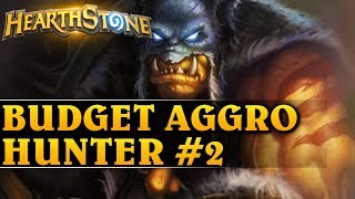 BUDGET AGGRO HUNTER #2 - Hearthstone Decks std