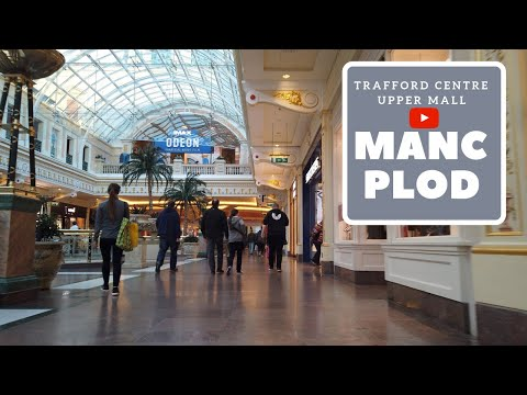 Trafford Centre Walking Tour | Upper Mall [4K]