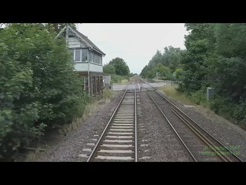 Peterborough to Lincoln via Spalding – Hastings DEMU cab ride — 1 July 2017 – audio from back cab