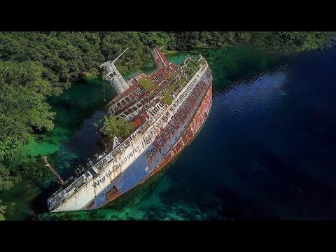 12 Most Amazing Abandoned Ships In The World
