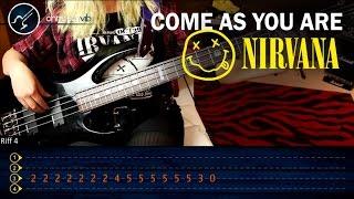Como tocar Come As You Are NIRVANA en Bajo | Tutorial