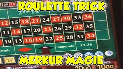 Roulette TRICK bei Merkur Magie - RISIKO in der Merkur Magie Spielothek HD