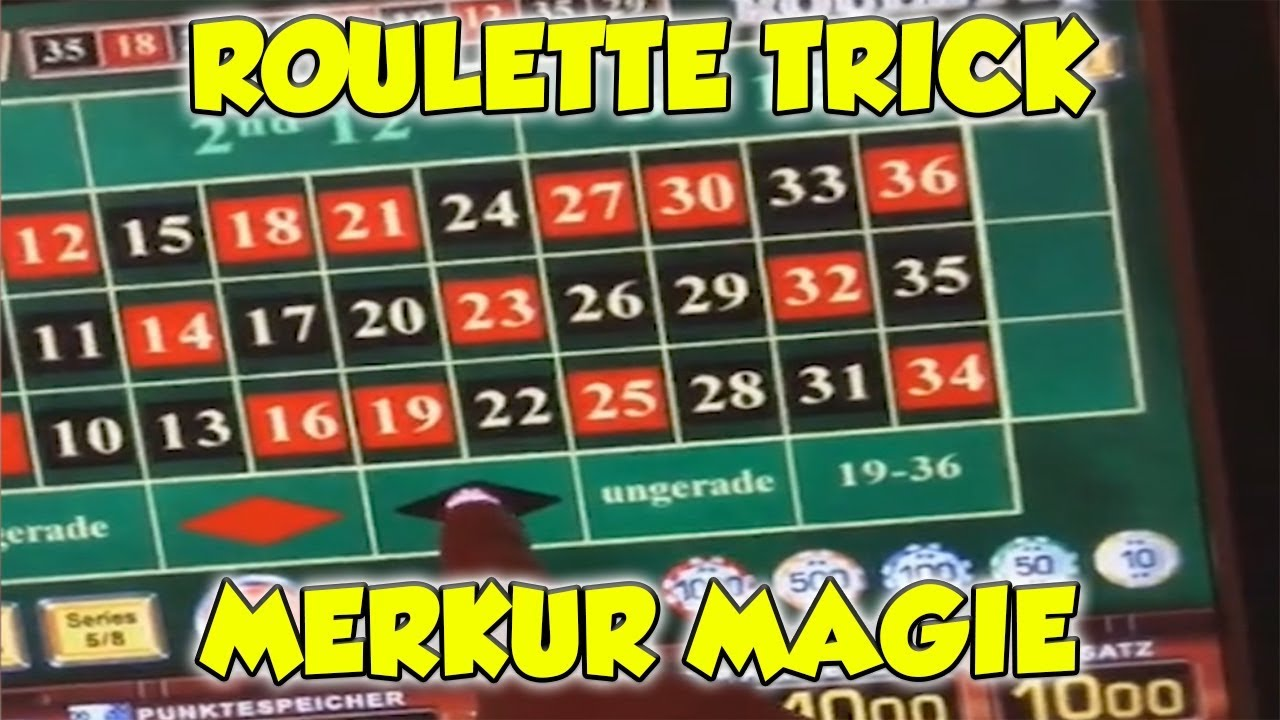 Roulette TRICK bei Merkur Magie - RISIKO in der Merkur ...