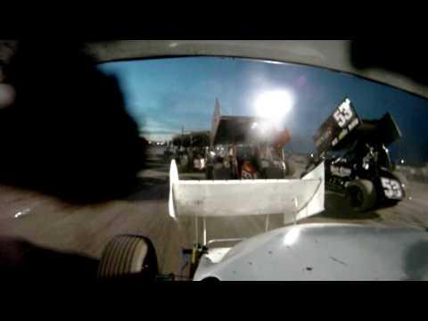 Silver Dollar Speedway Fair race on-board with Billy Strange in HD!