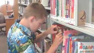 США.. Американская библиотека, детские книжки на русском языке..