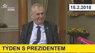 TÝDEN S PREZIDENTEM 15.2.2018-Prezident Zeman se zastal kardinála DUKY