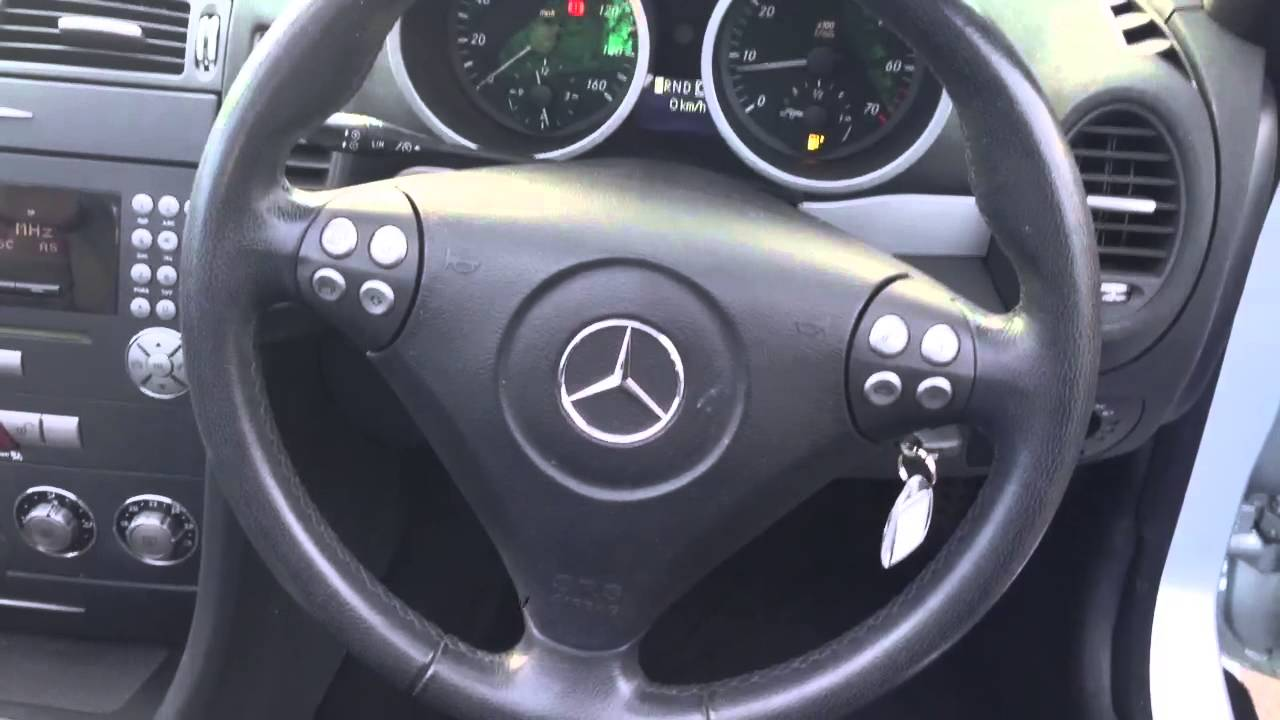 2005 mercedes slk 200 kompressor walkaround youtube. Black Bedroom Furniture Sets. Home Design Ideas