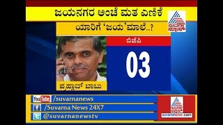 Jayanagar Results LIVE:  Counting Of Votes Underway.