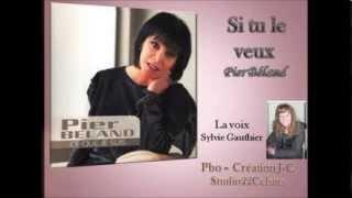Si tu le veux - Pier Béland (Cover avec Paroles) Sylvie Gauthier