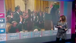 بي_بي_سي_ترندينغ | جدل بين #ترامب ومراسل قناة سي أن أن في #البيت_الأبيض