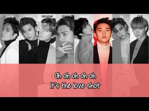 EXO - Love Shot (Chi ver.) + Picture coded [English subs/Hanyu Pinyin/Chinese]