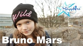 Bruno Mars - Just The Way You Are - cover by 10 year old Sapphire