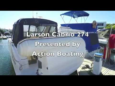 Larson Cabrio 274 for sale, Action Boating, boat sales, Gold Coast, Queensland, Australia