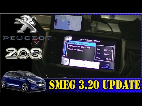 SMEG 3.20 Update / Aggiornamento Peugeot 208