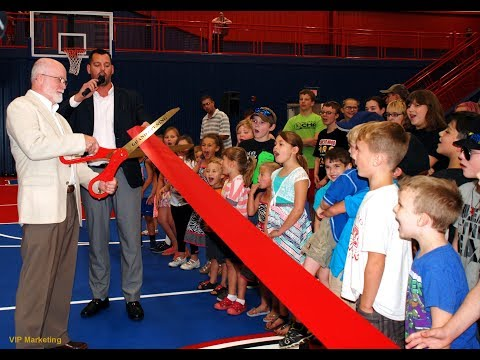 Charlton Heston Academy Gymnasium Ribbon Cutting