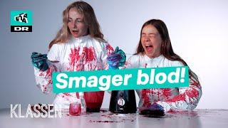 Sådan laver man FAKE BLOD | Klassen ekstra