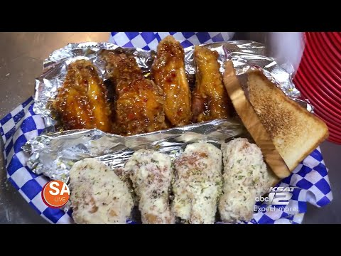 The Best Chicken Wings In Texas Also Comes With A Killer Philly Cheesesteak | Elder Eats
