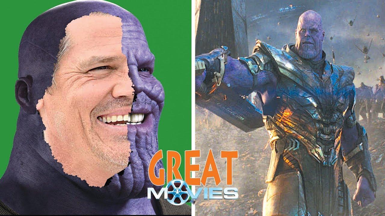 Actor Makeup Become Thanos Josh Brolin Avengers Endgame Greatmovies Youtube