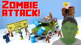 ROBLOX Zombie Attacks Toy Figures