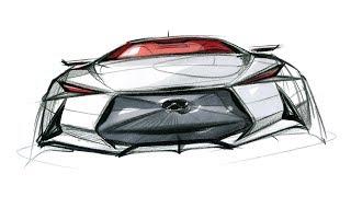 자동차 스케치 & 디자인(infiniti Front Design)