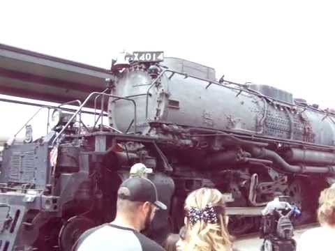 Union Pacific Big Boy 4014 Blowing its whistle