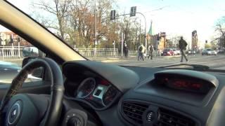 Nauka Jazdy Karolina jazda po mieście z Andrzejem w Kursancie
