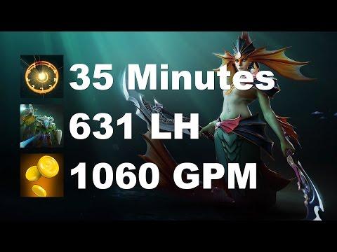 Miracle- Naga 1060 GPM 631 LH 35 Minutes Dota 2