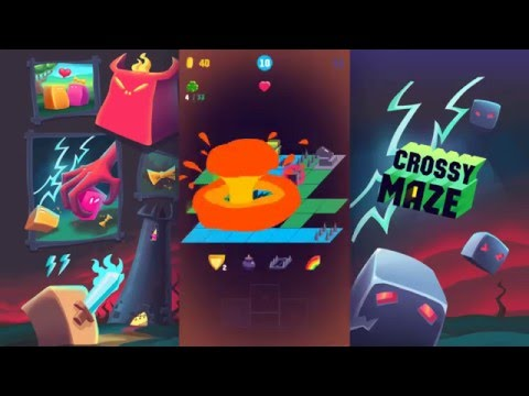 CROSSY MAZE: Best game for iPhone!