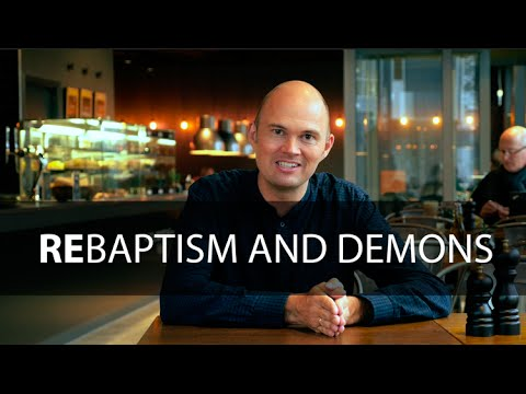 Café talk: Rebaptism - teaching with Torben Søndergaard