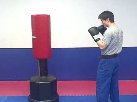 Cardio Workout With A Heavy Bag