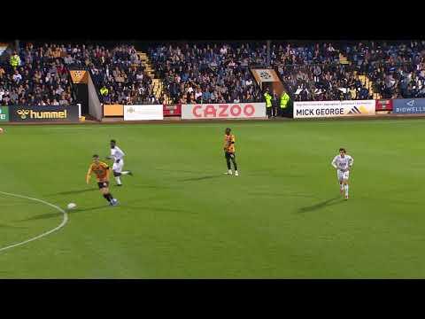 Cambridge Utd Tottenham U21 Goals And Highlights