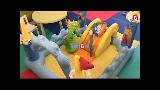Kolam Renang Anak Kolam Main Intex 57138 Fantasy Castle Play