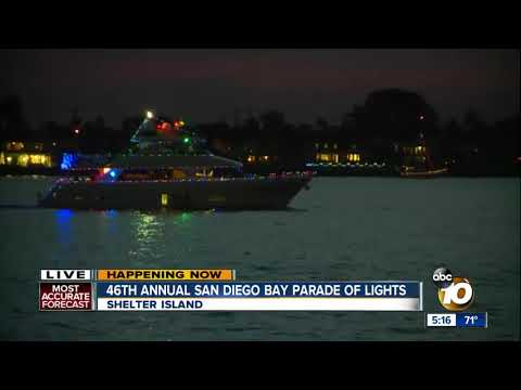 46th annual San Diego Parade of Lights