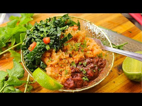 Mexican Rice Recipe - Rice Cooker Rice - Cooking Channel - Plant Based Diet