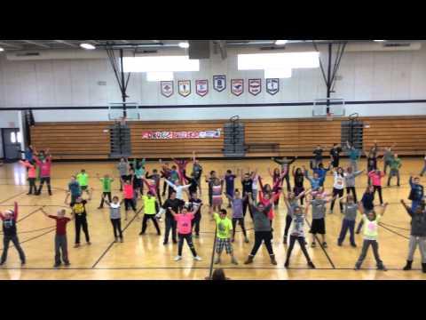 "Oakwood Grade School ""Drugbusters"" Flashmob- Red Ribbon Week"