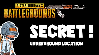 How to find UNDERGOUND TUNNEL ! |Pubg Mobile secret location |Gameplay in New Map.