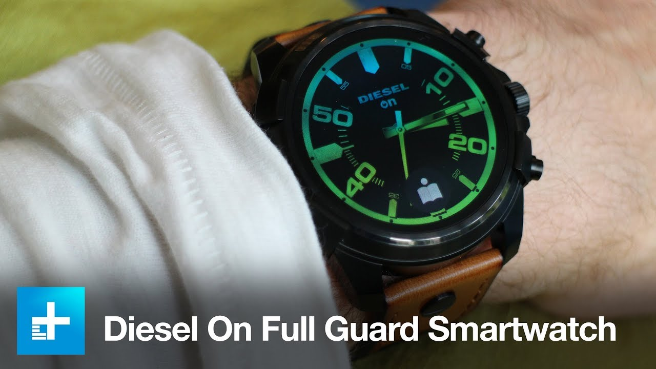 be8fabf6dd9 Diesel On Full Guard Smartwatch - Hands On - YouTube