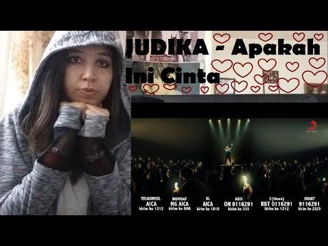 JUDIKA - Apakah Ini Cinta  MV _ REACTION