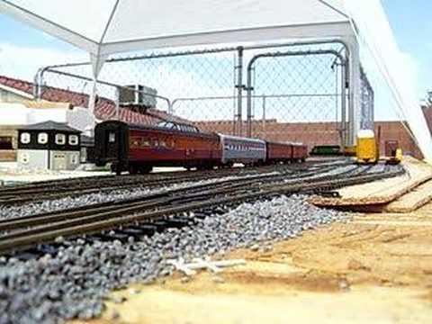 Backyard Model Train Set
