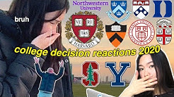 college decision reactions 2020 ft. harvard acceptance *EMOTIONAL* (ivy day, stanford, more)