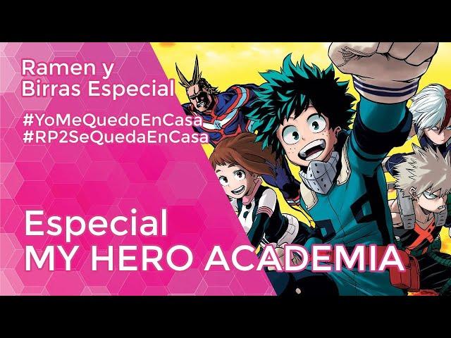 ESPECIAL MY HERO ACADEMIA con Jordi Naro, Ayako Koike y Manu Guerrero