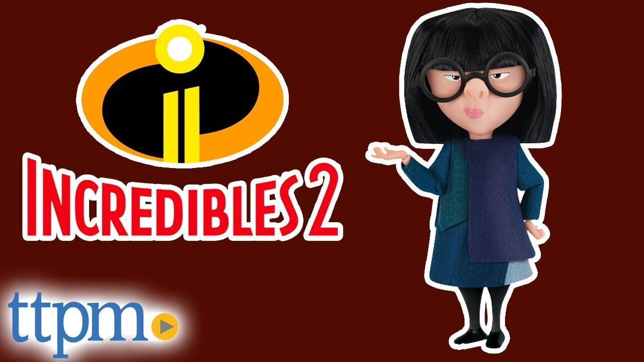 Incredibles 2 Interactive Edna With Voice Recognition From Thinkway Toys