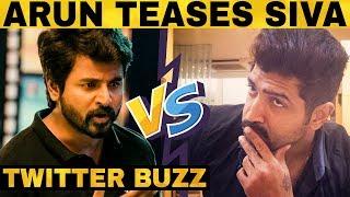 சிவகார்த்திகேயனை மீண்டும் சீண்டினாரா அருண்விஜய்? Sivakarthikeyan Teases Arun Vijay? Twitter Buzz