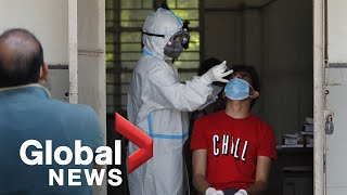 Coronavirus: India's COVID-19 death toll passes 100,000 with no sign of an end