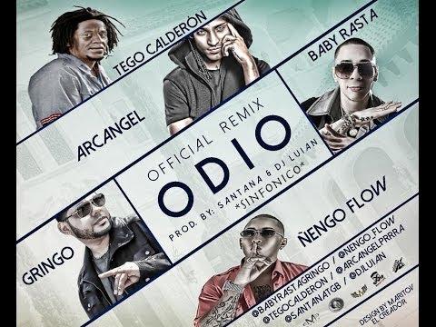 Baby Rasta y Gringo Feat Tego Calderon, Nengo Flow y Arcangel (Odio Remix)