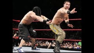 WWE John Cena vs Daivari Blindfolded   You Cant See Me Match   RAW