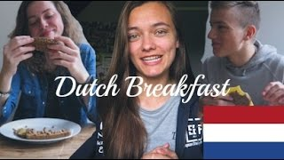 Foreigners Try Dutch Breakfast
