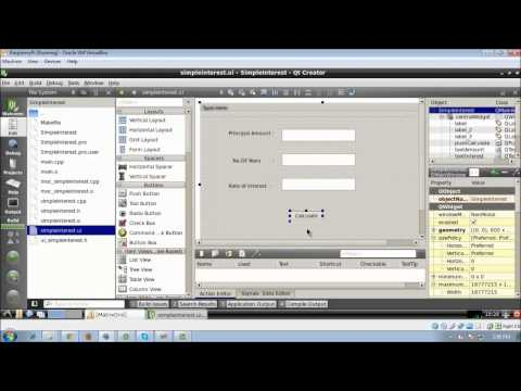 How to develop a GUI Application using QT C++ | Video Tutrial