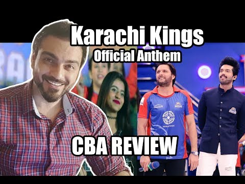 PSL - Karachi Kings Anthem |CBA Review|Comics By Arslan
